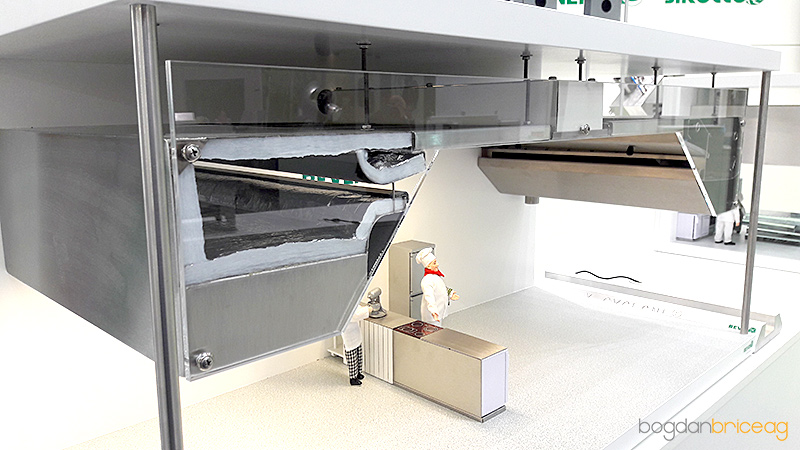 Plafon extractie grasimi din bucatarii profesionale