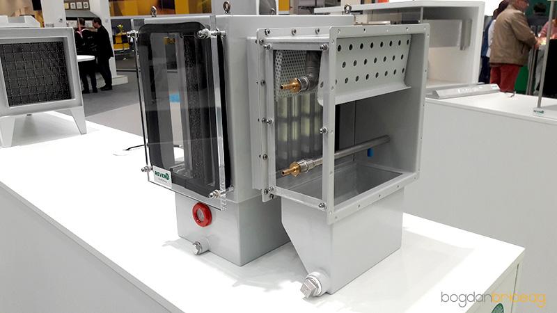 Echipament filtrare particule cu spalare automata